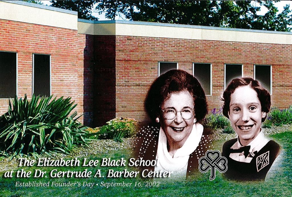 The Elizabeth Lee Black School was established September 16, 2002 and named in honor of an Erie girl challenged by debilitating illness.